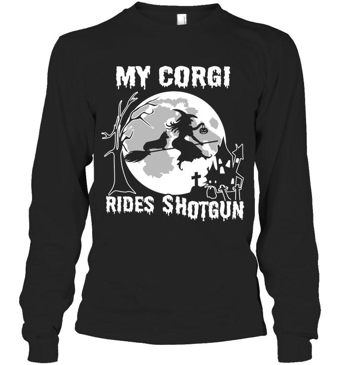 Corgi Lover Halloween Shirt