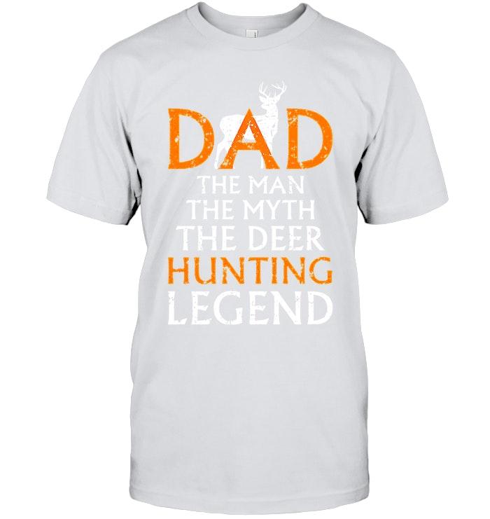 503e394b Animals Hunting Avenger papa tshirt | Dad The Man The Myth The Deer Hunting  Legend Shirts