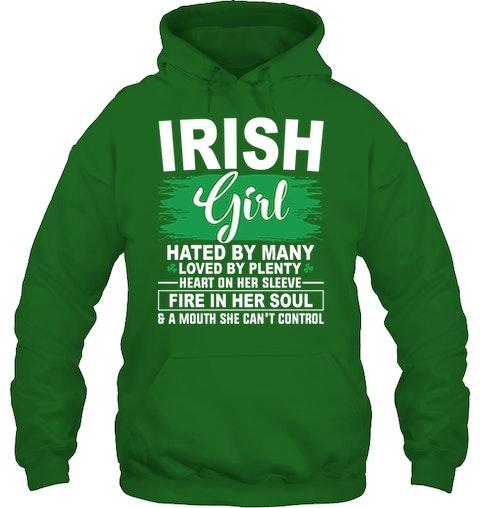 5b7cad2b Funny St. Patrick's Day T Shirts :: Irish Girl