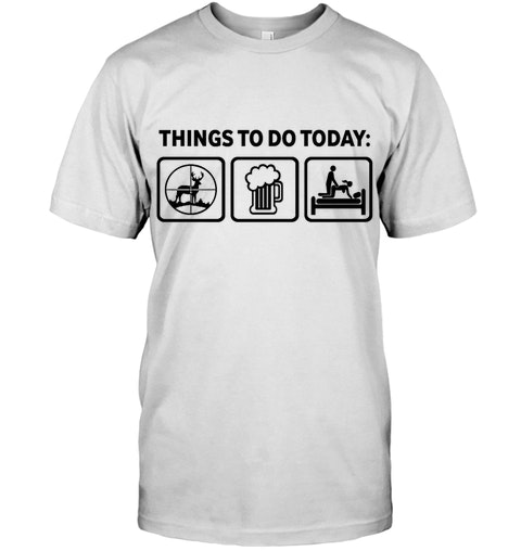 5fcb6b9e9 Hunting shirt Big Tines Hunter Tshirt. 11 hours left. Add to cart. Funny  Deer Hunting Things To Do Today