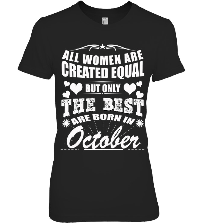 Birthday Tees T Shirt For October
