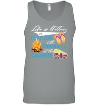 7ddac1acc7d0 Camping Life Is Better In Flip Flop T-Shirt