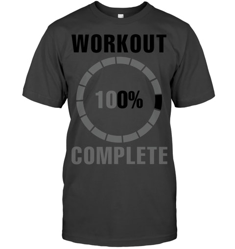 54d9cb17 Workout Complete 100% Sweat Activated tshirt for Men Women