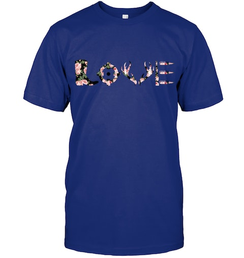 6d9a13c3 Love Hunting Limited edition Trending T shirt